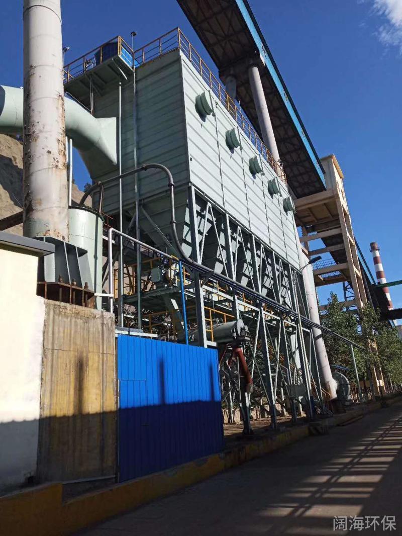 焦化厂焦炉机侧地面站除尘器